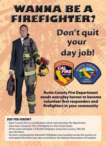 Butte County Fire Volunteer Application